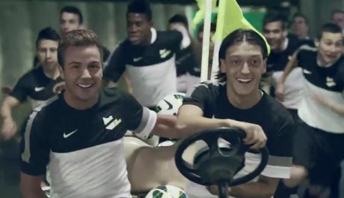 Mario Götze et Mesut Özil