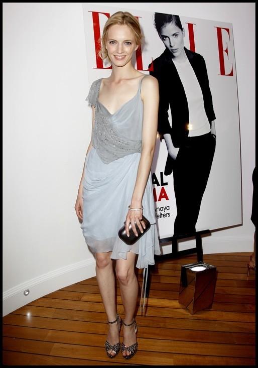 Daria Strokous à la soirée Elle Dior à Cannes/
