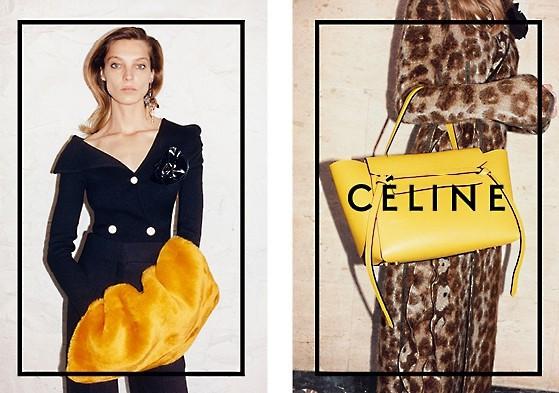 Mode : Daria Werbowy : elle remet le couvert avec Céline !
