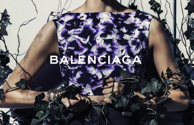 Daria Werbowy pour Balenciaga