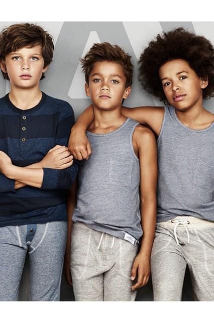 Mode : David Beckham lance sa collection pour enfants avec H&M !