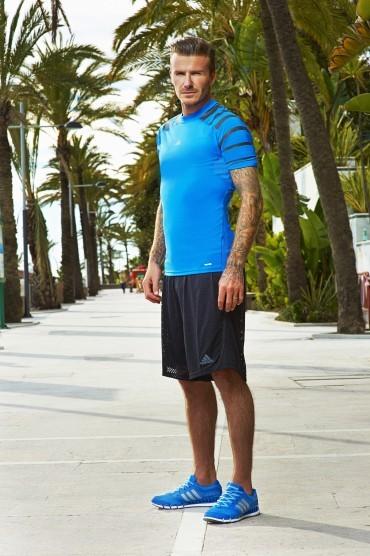 David Beckham est l'égérie de la dernière publicité Adidas.