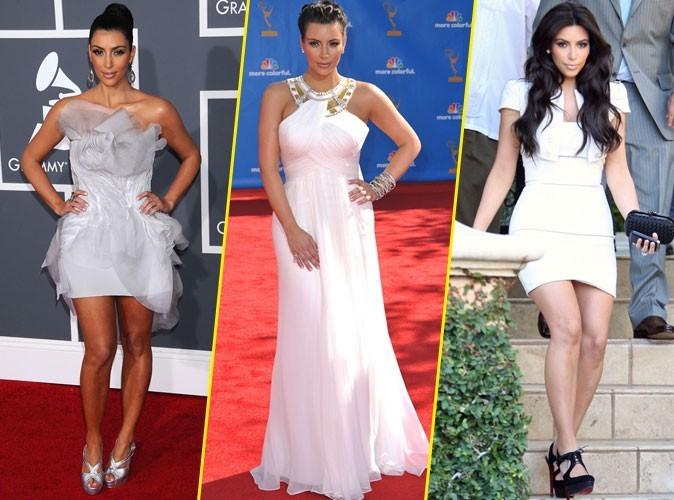 Retour sur les looks blancs de Kim Kardashian !