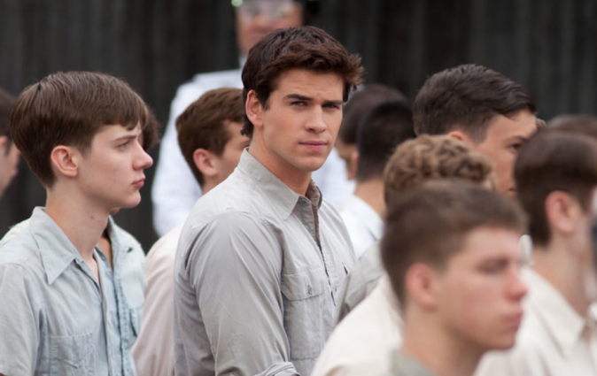Liam Hemsworth dans Hunger Games