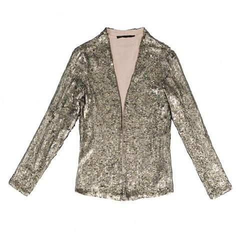 Vestes à paillettes, Zara, 139 euros