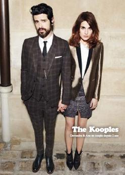 Devendra Banhart et Ana Kras pour la campagne automne-hiver 2012-2013 de The Kooples