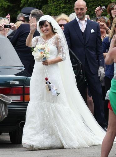 Le mariage de Lily Allen