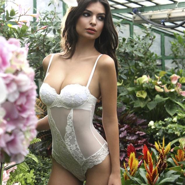 Mode : Emily Ratajkowski : électrissante dans la nouvelle campagne de la marque de lingerie Yamamay...