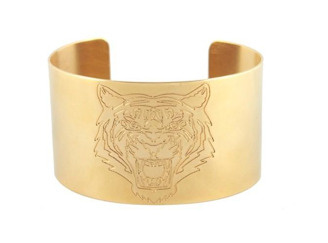 Manchette or Tigre.  Prix : 156€