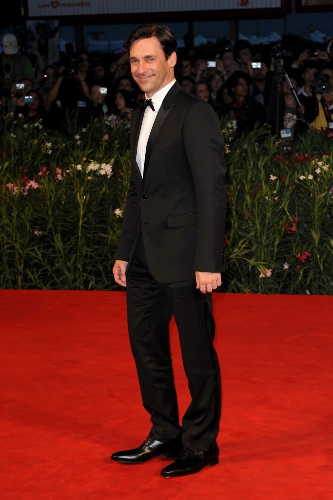 2011 : John Hamm au Festival de Venise !