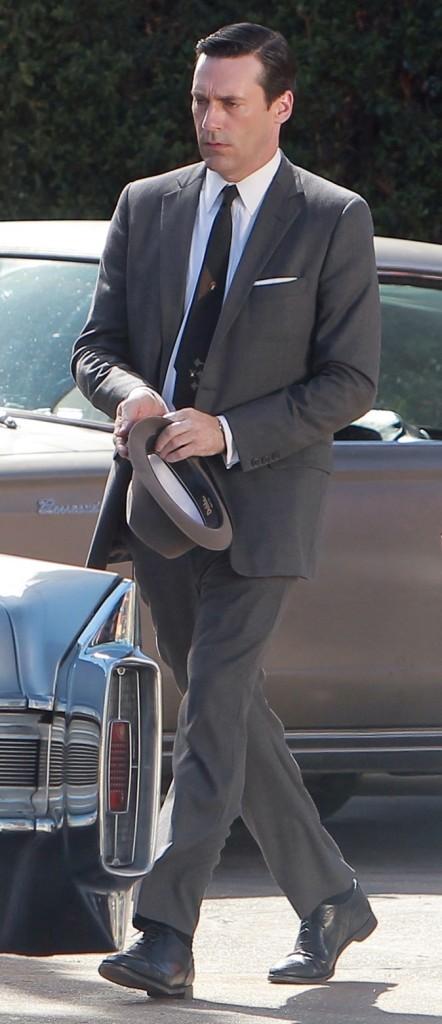 2011 : Sur le tournage de la dernière saison de Mad men !