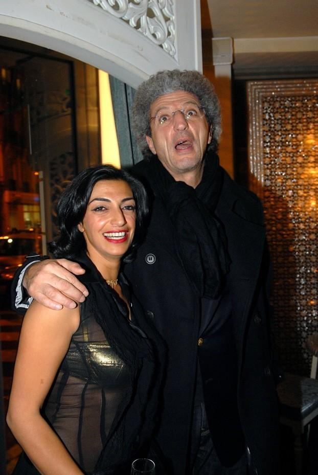 Elie Chouraqui avec Fadia Otte