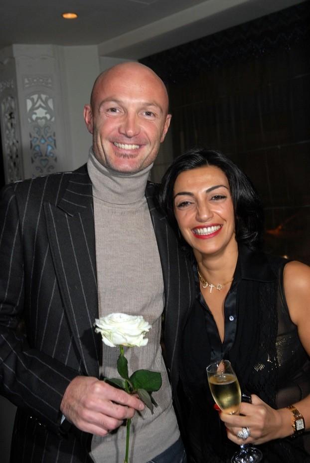 Franck Leboeuf et Fadia Otte