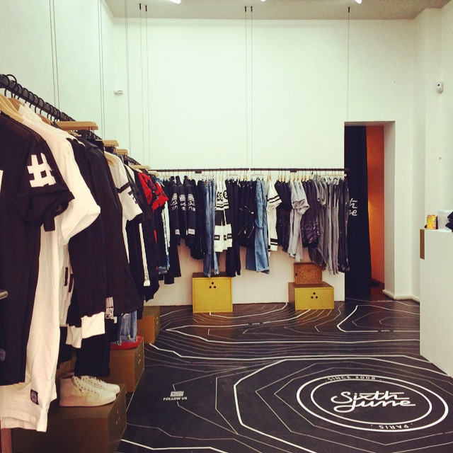 Sixth June, le Pop Up Store à découvrir !