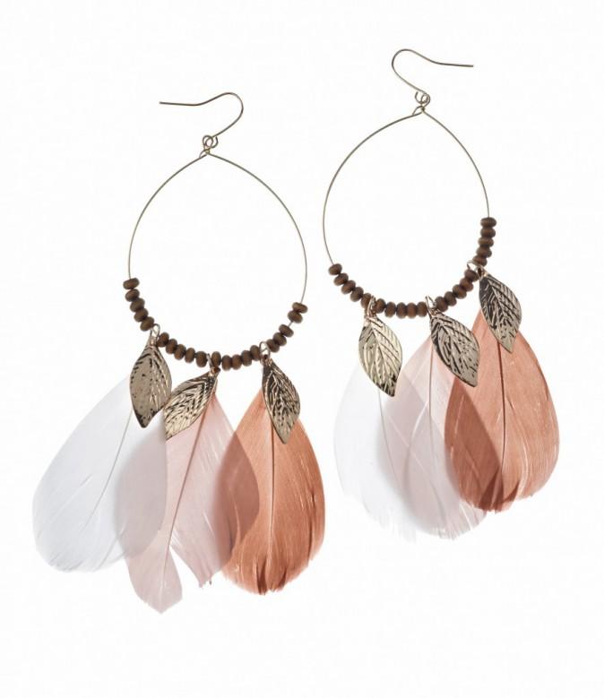Boucles d'oreilles à plumes Claire's 9,99€