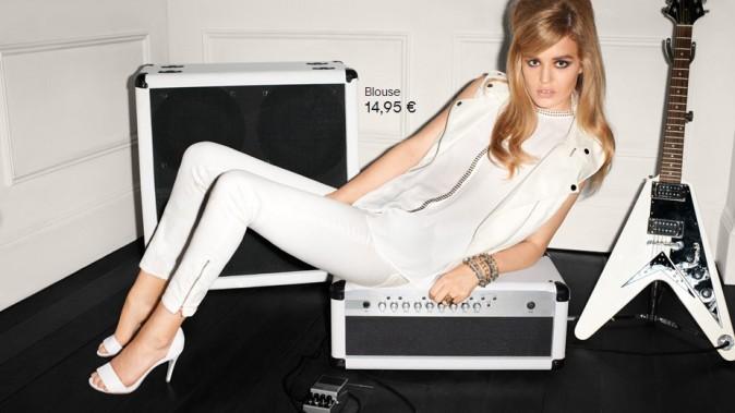 Georgia May Jagger pour H&M, printemps/été 2013