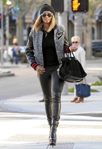 Ciara : Le style ghetto, pour la chanteuse, c'est du tout cuir !