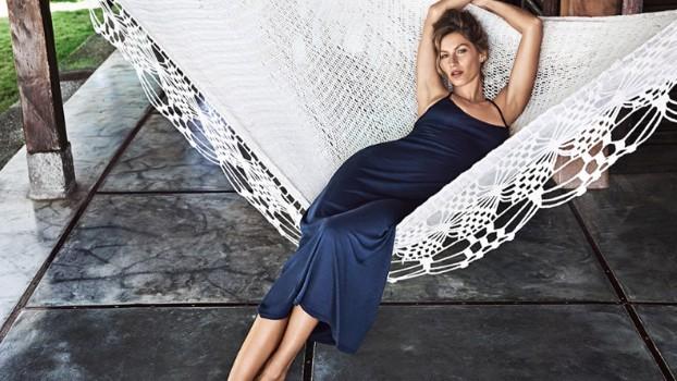Gisele Bündchen : elle pose pour la collection Effortless Summer d'H&M !