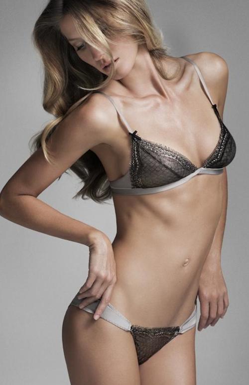 Gisèle Bündchen : La top brésilienne se dénude pour sa nouvelle collection de lingerie !