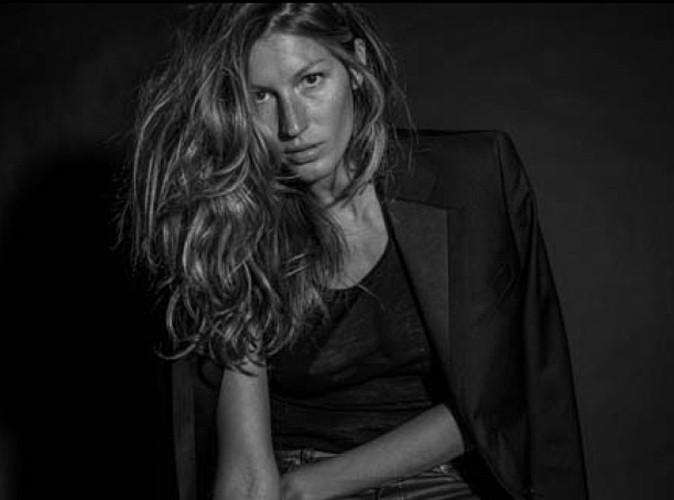 Gisele Bündchen sauvage et sexy pour la campagne de BLK DNM !