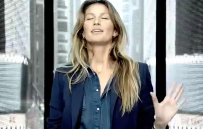 Gisele Bündchen pour Esprit automne-hiver 2012/2013 !