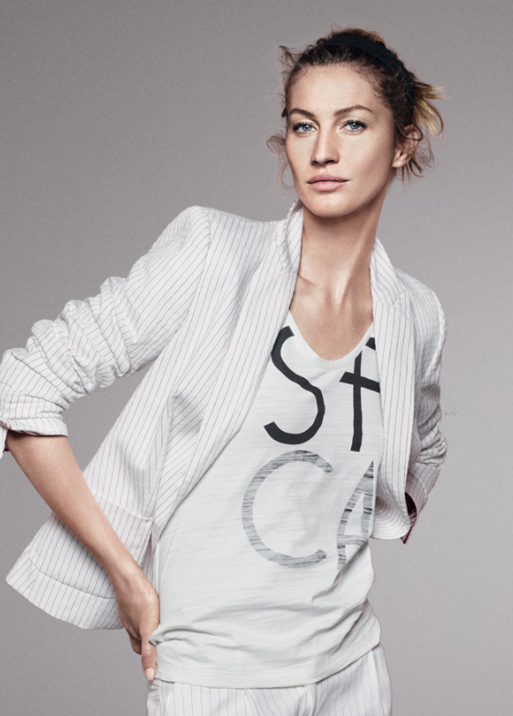 Gisele Bündchen pour la collection printemps-été 2012 d'Esprit