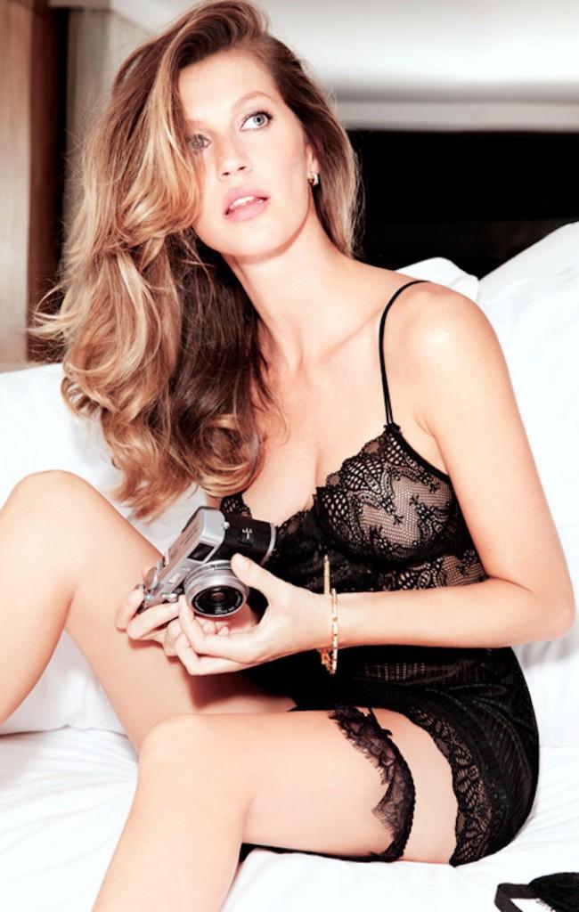 Gisele Bundchen, sexy pour sa nouvelle campagne !