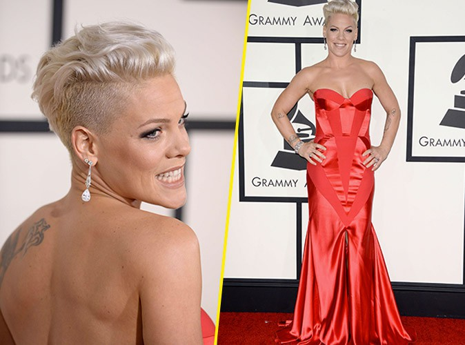 Pink en Johanna Johnson : ultra flamboyante !