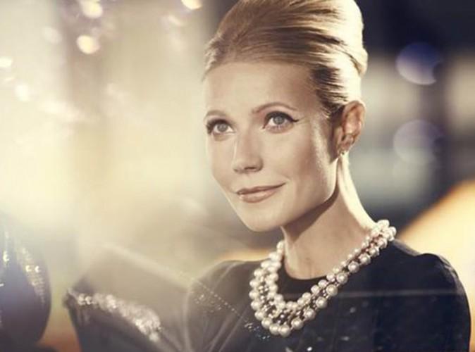 """Beauté : Gwyneth Paltrow : en voit de toutes les couleurs pour les """"100 ans de Glamour"""" de Max Factor !"""