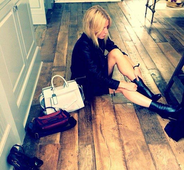 "La photo de Gwyneth Paltrow sur Instagram ""spring cleaning @goop #goopgiving"""