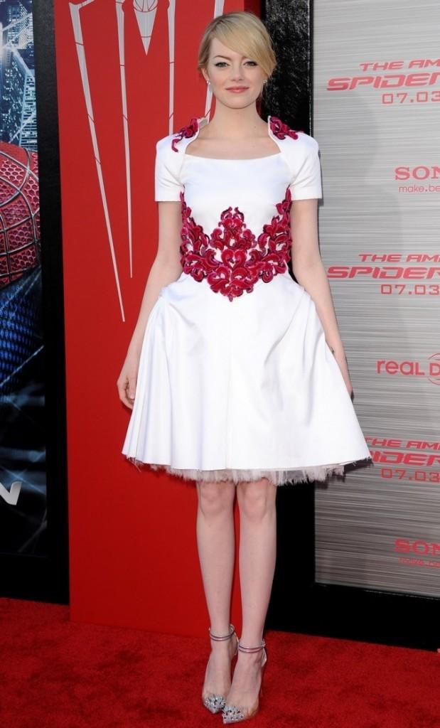 les 10 célébrités les mieux habillées de l'année: 3 ème place Emma Stone !