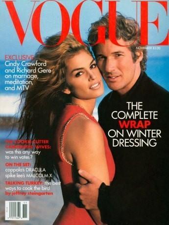 Cindy Crawford : 18 couvertures pour Vogue !