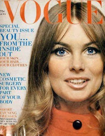 Jean Shrimpton : 20 couvertures pour Vogue !