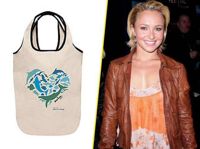 "Le sac d'Hayden Panettiere pour la campagne Neutrogena ""Wave for change"" !"