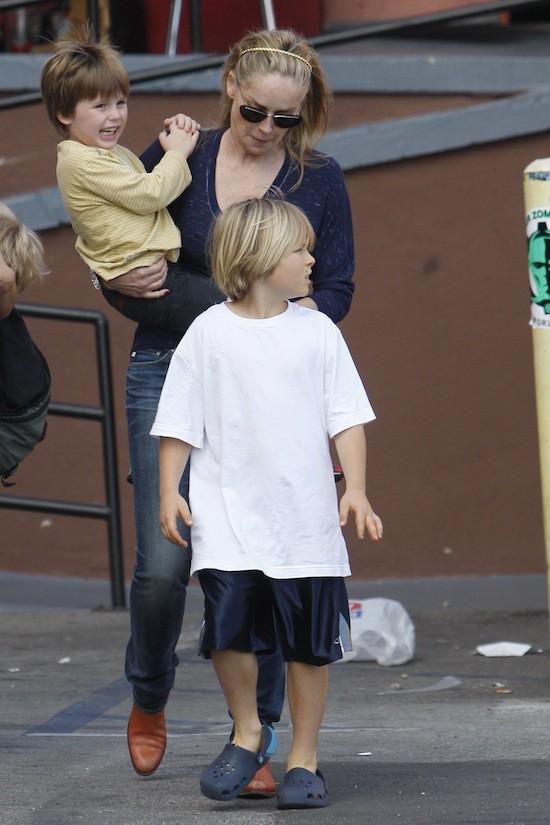 Le fils de Sharon Stone