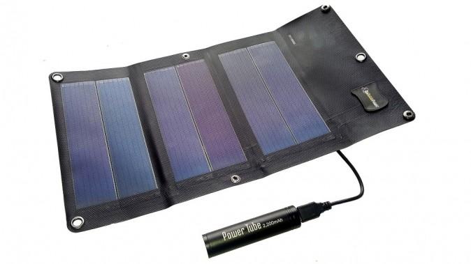 Mini chargeur solaire, My Mobile Power sur solariflex.com 55 €