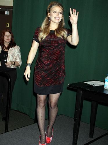 Hilary Duff dans les années 60
