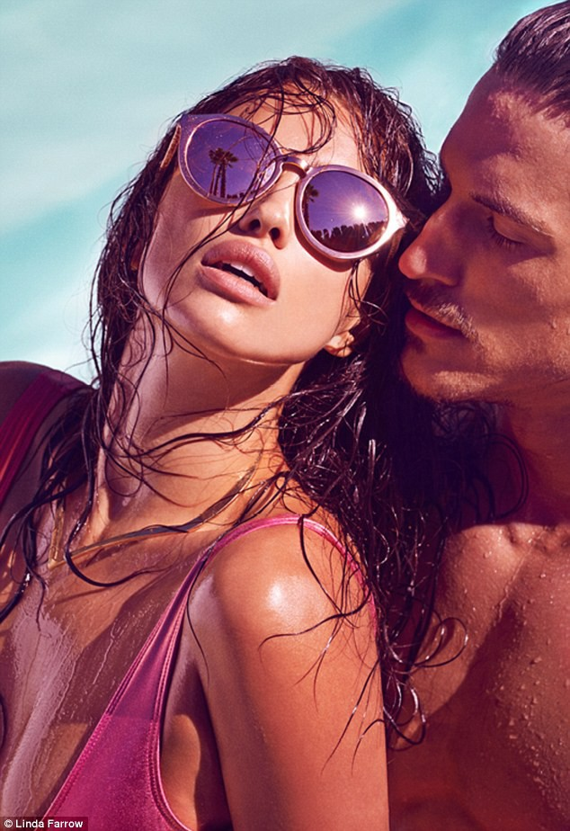 Mode : Irina Shayk : sexy et sensuelle, mais pas avec Cristiano...pour Linda Farrow !