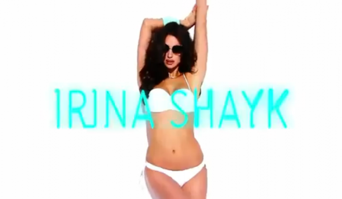 Irina Shayk pour la campagne printemps-été 2012 de Blanco