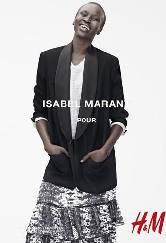 La collection Isabel Marant pour H&M en boutique aujourd'hui !