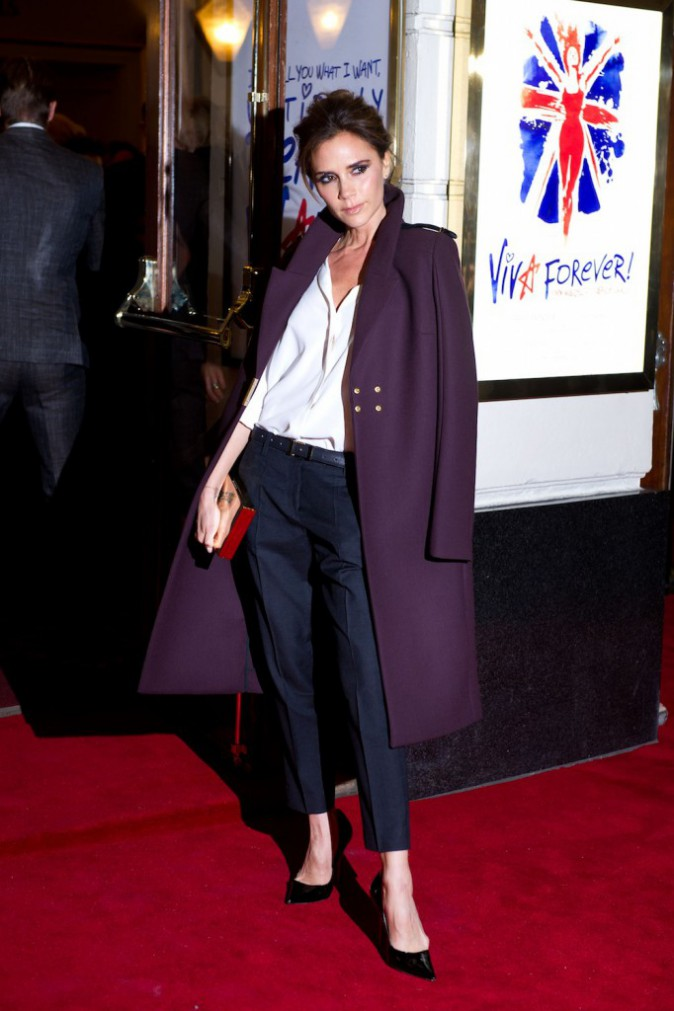 Le pantalon Isabel Marant de Victoria Beckham