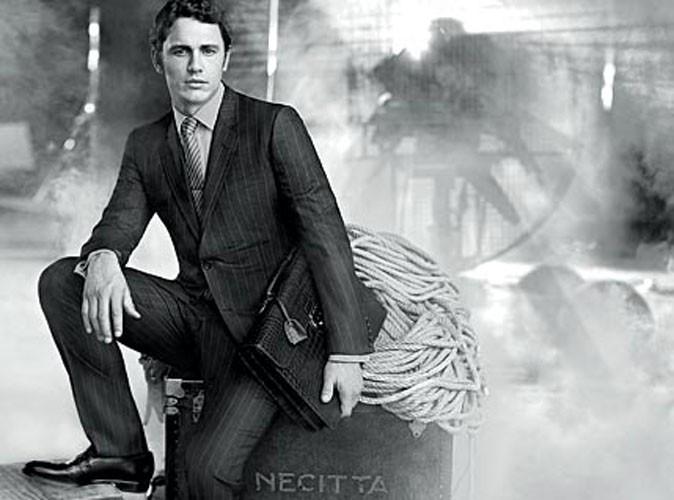 James Franco très élégant pour Gucci !