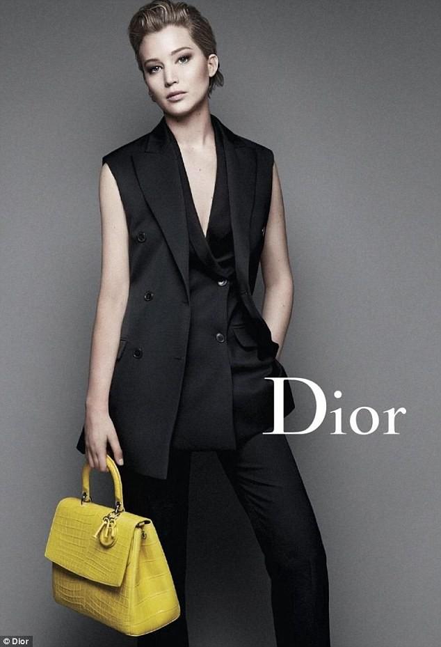 Jennifer Lawrence pour Dior