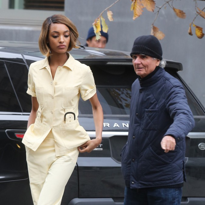 Mode : Jourdan Dunn : repérée en plein shooting photo à New York !
