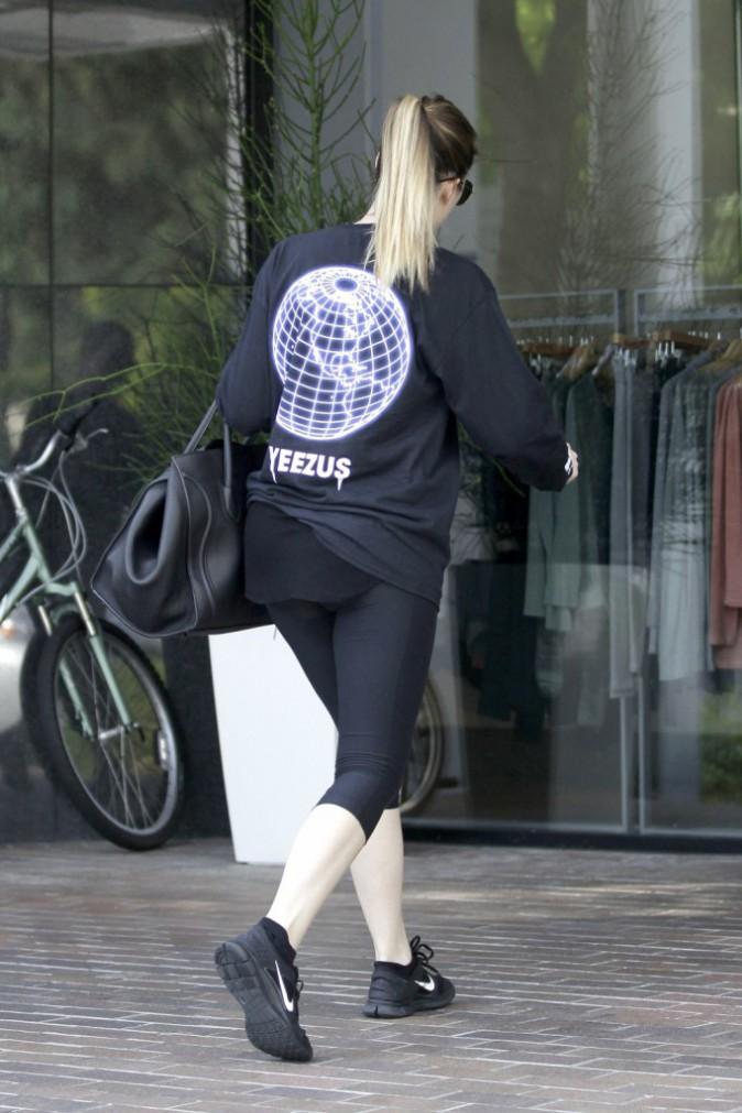 Khloe Kardashian soutient son futur beau-frère au sport !
