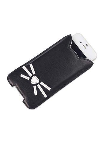 Pochette pour smartphone de la collection Karl Lagerfeld inspirée de Choupette