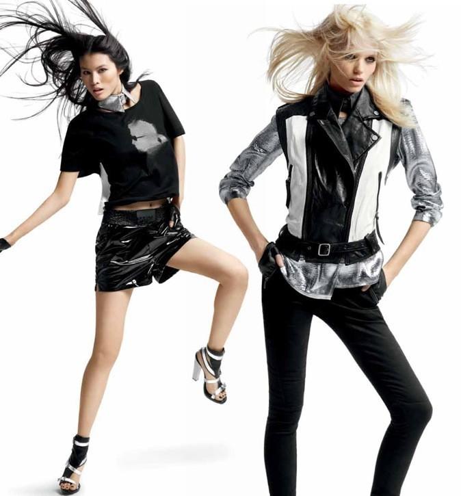 Campagne publicitaire pour la collection printemps-été 2012 de KARL by Karl Lagerfeld
