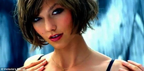 Karlie Kloss : modèle pour Victoria's Secret