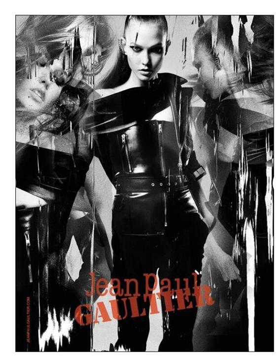Mode : Karlie Kloss pour Jean-Paul Gaultier : mais où est passé son carré court ?
