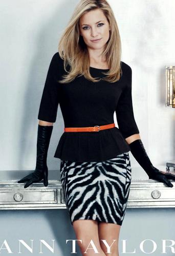 Mode : Kate Hudson: Au top pour Ann Taylor...